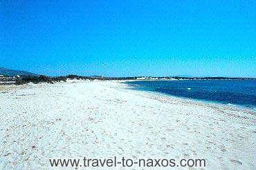 ALYKO BEACH - The beautiful white sandy beach of Alyko.