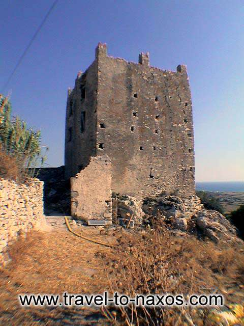 OSKELOU TOWER - The date of the foundation of Paleopyrgos is not Known.