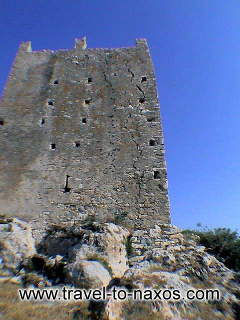 OSKELOU TOWER - A view of the impressive tower.