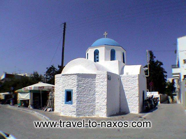 AGIOS IOANNIS CHURCH - Agios Ioannis church is found in Chora of Naxos.