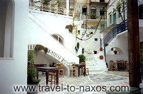 KORONOS SPOT - The traditional architecture of Cyclades islands characterize the village Koronos.