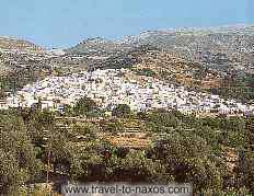 FILOTI VIEW - A panoramic view of the beautiful village Filoti.