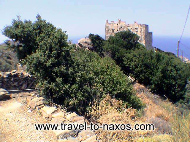 AGIAS TOWER - Agias tower is found to the north side of Naxos.
