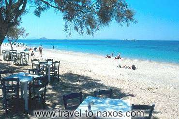 PLAKA BEACH - After your bath, enjoy your lunch to the coastal taverns.